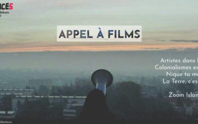 Appel à films – 2019