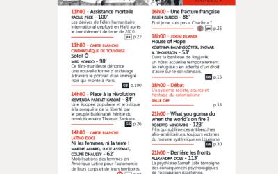 Programme horaire 2019